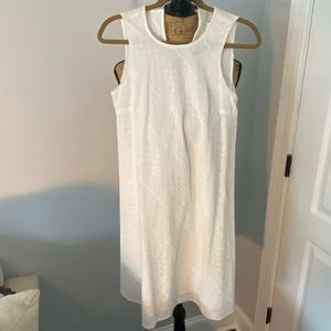 NWT- Calvin Klein Dress with embroidered detail
